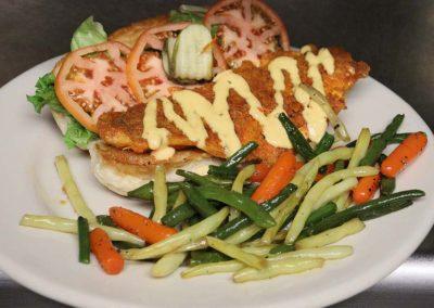 Cod Filet Sandwich